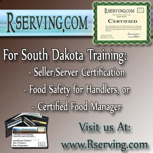 South Dakota Bartender laws and Regulations, bartender license