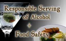 Combo: Responsible Serving<sup>®</sup> of Alcohol & Food Safety for Handlers