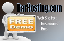 BarHosting Website for Bars/Restaurants (Free Trial)