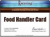 Food Handler Card